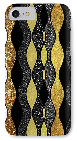 Groovy, Baby Modern Take On A Retro 1960s Design IPhone Case by Tina Lavoie