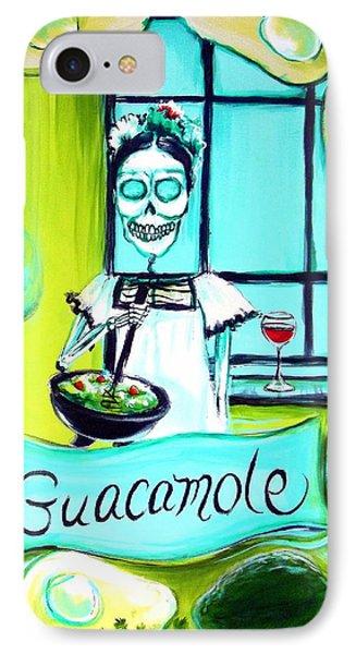 Guacamole IPhone Case by Heather Calderon