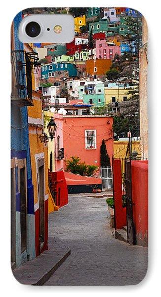 Guanajuato Lane Phone Case by Skip Hunt