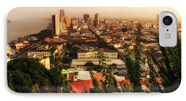 Guayaquil Ecuador 2 IPhone Case by Gestalt Imagery