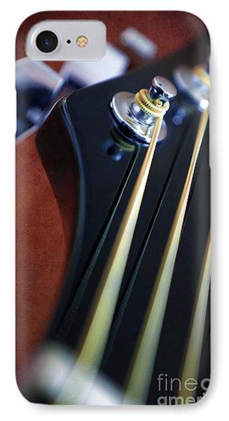 Guitar Head Stock IPhone Case by Carlos Caetano