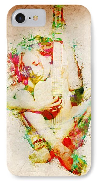 Guitar Lovers Embrace IPhone 7 Case by Nikki Smith