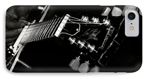 Guitarist IPhone Case by Stelios Kleanthous
