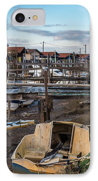 IPhone Case featuring the photograph Gujan Mestras II by Thierry Bouriat