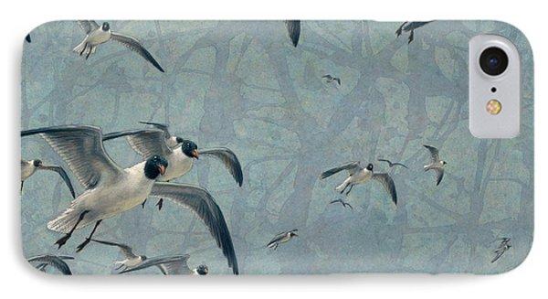 Gulls IPhone Case by James W Johnson