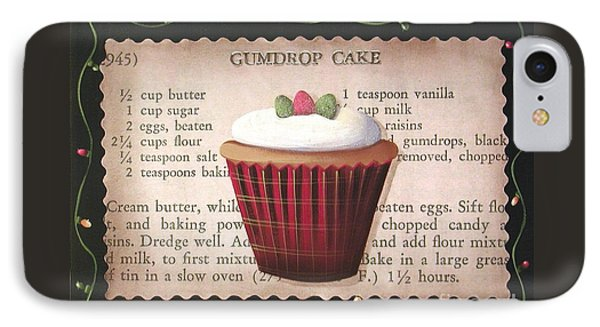 Gumdrop Cupcake Phone Case by Catherine Holman