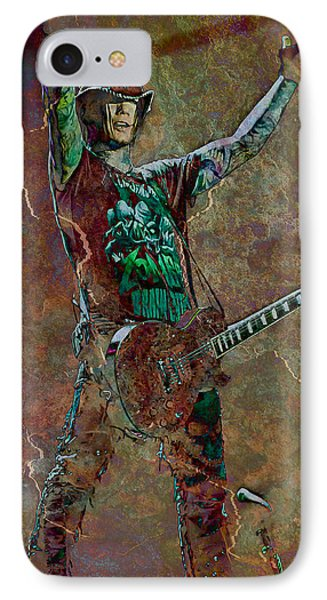 Guns N' Roses Lead Guitarist Dj Ashba IPhone Case by Loriental Photography