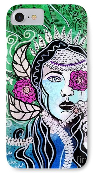 Gypsy Mary IPhone Case by Amy Sorrell