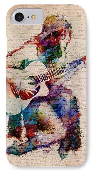 Gypsy Serenade IPhone 7 Case by Nikki Smith