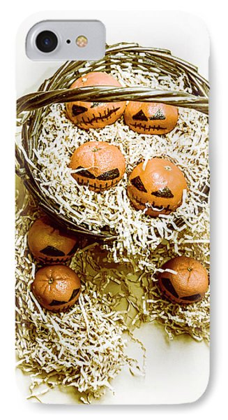 Halloween Food Decoration IPhone Case by Jorgo Photography - Wall Art Gallery