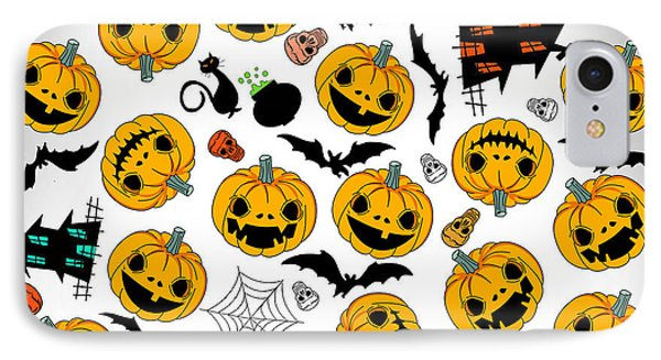Halloween Party  IPhone Case by Mark Ashkenazi