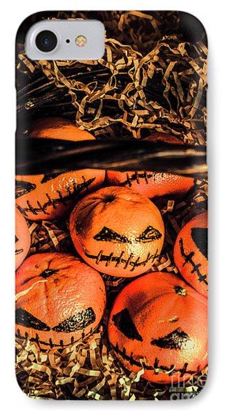 Halloween Pumpkin Head Gathering IPhone Case by Jorgo Photography - Wall Art Gallery