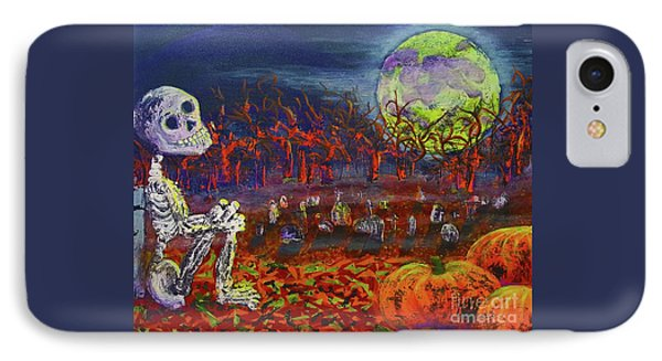 Halloween Serenity IPhone Case by JA Wiese