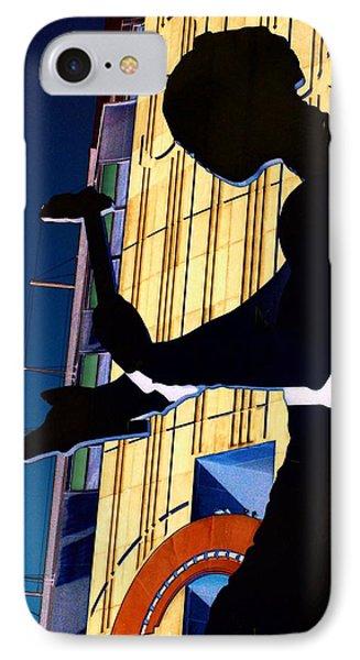 Hammering Man IPhone 7 Case by Tim Allen