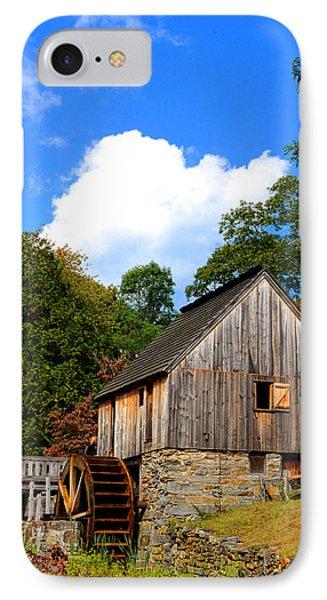 Hammond Gristmill Rhode Island IPhone Case by Lourry Legarde