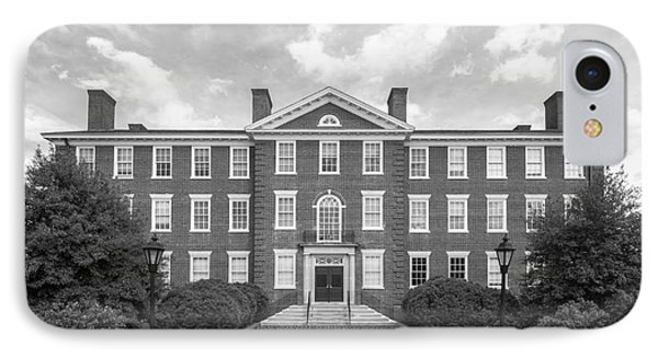 Hampden- Sydney College Morton Hall IPhone Case by University Icons
