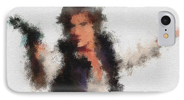 Han Solo IPhone Case by Miranda Sether
