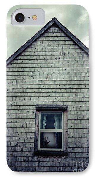 Hand In The Window IPhone Case by Edward Fielding