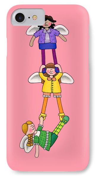 Hang In There IPhone Case by Sarah Batalka