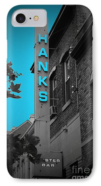 Hanks Oyster Bar Phone Case by Jost Houk