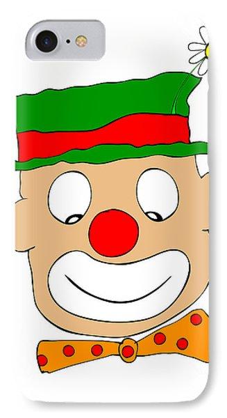 Happy Clown Phone Case by Michal Boubin