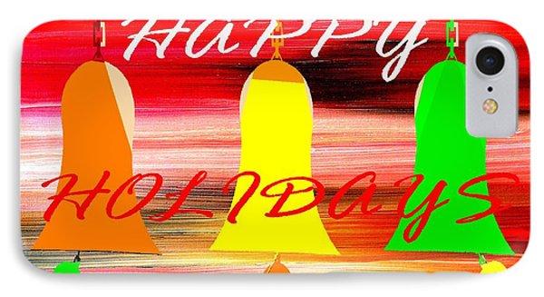 Happy Holidays 11 Phone Case by Patrick J Murphy