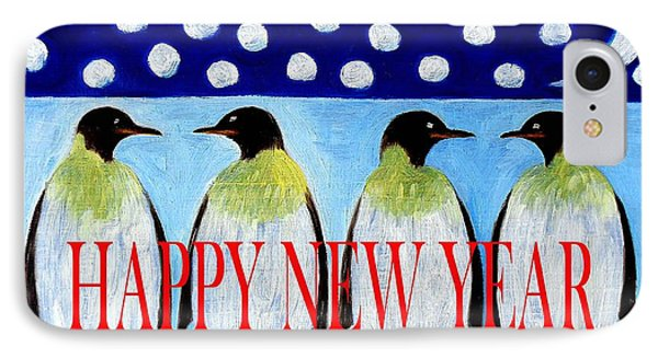 Happy New Year 5 Phone Case by Patrick J Murphy