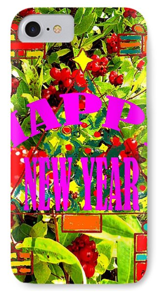 Happy New Year 6 Phone Case by Patrick J Murphy