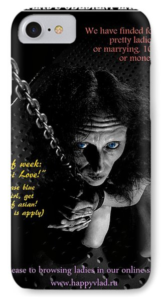 Happy Vlad's Obedient Lady Store IPhone Case by Guy Pettingell