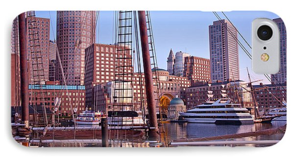 Harbor Sunrise IPhone Case by Susan Cole Kelly
