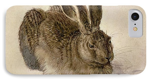 Hare IPhone 7 Case by Albrecht Durer