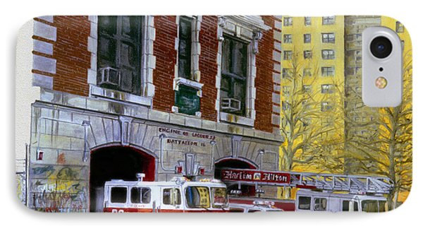 Harlem Hilton IPhone 7 Case by Paul Walsh