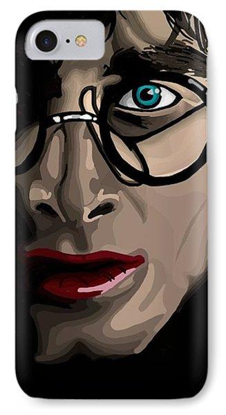 Harry Phone Case by Lisa Leeman