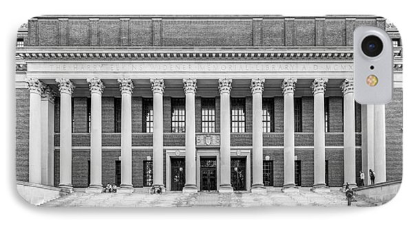 Widener Library At Harvard University IPhone 7 Case by University Icons