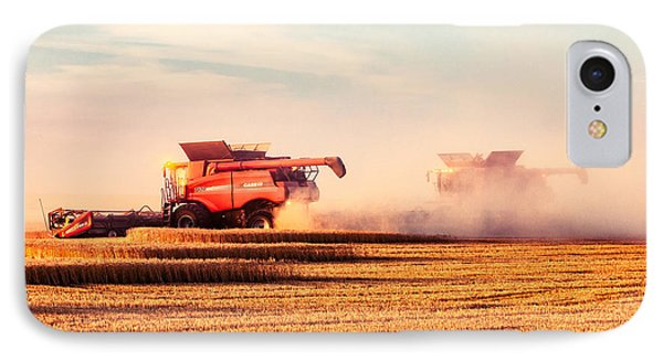 Harvest Dust IPhone Case by Todd Klassy