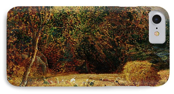 Harvest Moon IPhone Case by Samuel Palmer