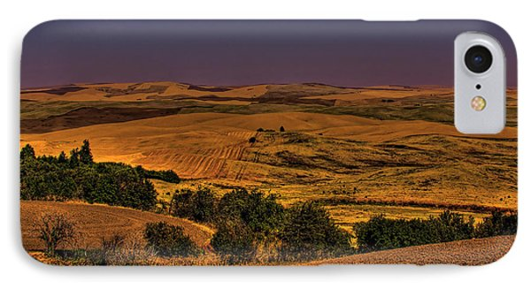Harvested Fields Phone Case by David Patterson