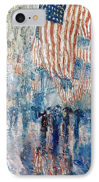 Hassam Avenue In The Rain IPhone Case by Granger