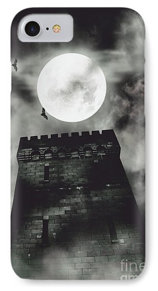 Haunted Dark Castle IPhone Case by Jorgo Photography - Wall Art Gallery