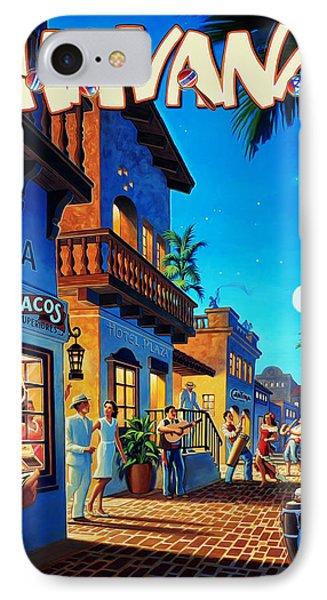 Havana Cuba IPhone Case by Mark Rogan