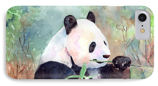 Having A Snack Phone Case by Arline Wagner