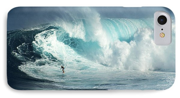 Hawaii Surfing Jaws 1 IPhone Case by Bob Christopher