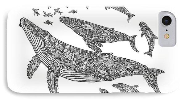Hawaiian Humpbacks IPhone 7 Case by Carol Lynne