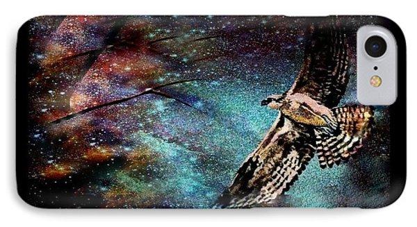 Hawk At Night IPhone Case by YoMamaBird Rhonda