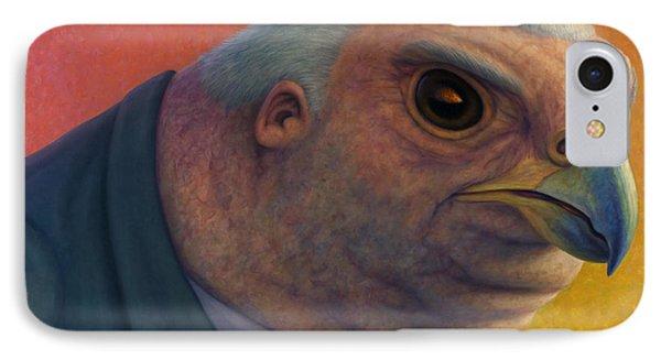 Hawkish IPhone 7 Case by James W Johnson