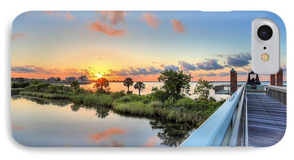 Hawkshaw Lagoon Memorial Park IPhone Case by JC Findley