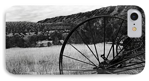 Hay Rake At The Ewing-snell Ranch Phone Case by Larry Ricker
