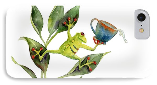 He Frog IPhone Case by Amy Kirkpatrick