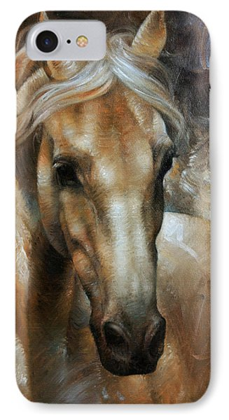 Head Horse 2 IPhone Case by Arthur Braginsky