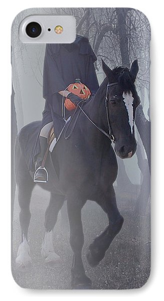 Headless Horseman IPhone Case by Christine Till